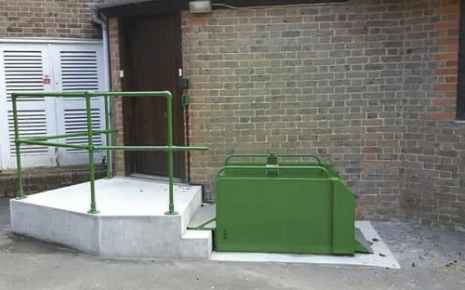 Out door wheelchair lifts