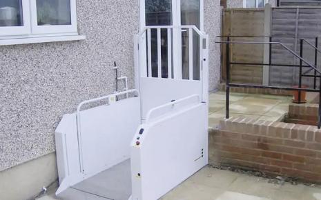 Home wheelchair lifts